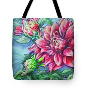Red Beauty Tote Bag