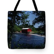 Red Dam In Summer #2 Tote Bag