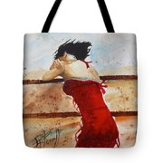 Red Dancer Tote Bag