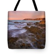 Red Dawning Tote Bag