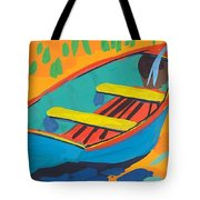 Red Deck Tote Bag