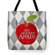 Red Delicious Apples Tote Bag