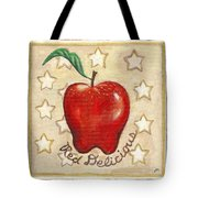 Red Delicious Two Tote Bag