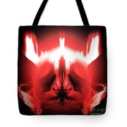 Red Descent Tote Bag
