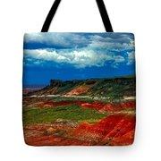 Red Desert Tote Bag