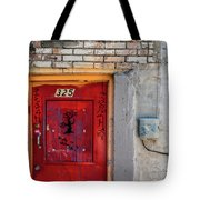 Red Door 325  Tote Bag