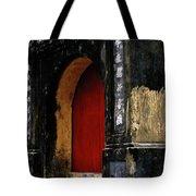 Red Doorway Tote Bag