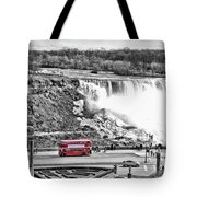 Red Double Decker Tote Bag