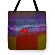 Red Dragon Autumn Tote Bag