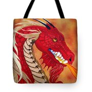 Red Dragon Tote Bag