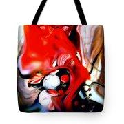 Red Drape Tote Bag
