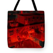 Red Dream Tote Bag
