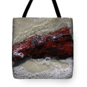 Red Drifter Tote Bag