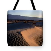 Red Dunes Tote Bag