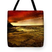 Red Dusk Tote Bag