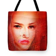 Red Dust Planet 6 Tote Bag