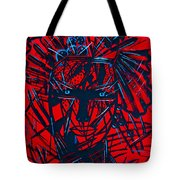 Red Exotica Tote Bag