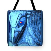 Red Eyed Raven Tote Bag
