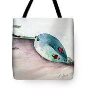 Red-eyed Wiggler Tote Bag
