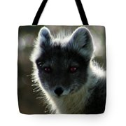 Red Eyes Tote Bag