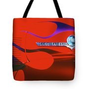 Red F-100 Tote Bag