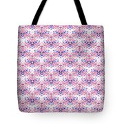 Red Fabric Pattern Tote Bag