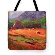 Red Farm Tote Bag