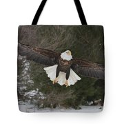 Red Feather Lift Off Tote Bag