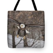 Red Feather Touchdown Tote Bag