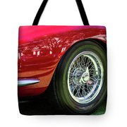 Red Ferrari Tote Bag