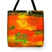 Red Fields Tote Bag