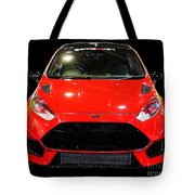 Red Fiesta Mk7.5 Tote Bag