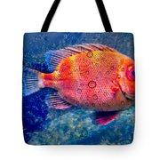 Red Fish Blue Fish Tote Bag