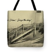 Red Flag Day Quote Tote Bag