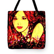 Red Flirt Tote Bag