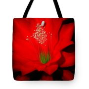 Red Flower For You Tote Bag