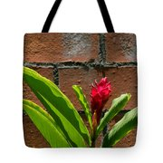 Red Flower Iv Tote Bag