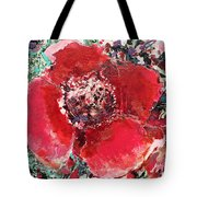 Red Flower, Tote Bag