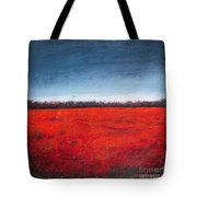 Red Flowering - Poppies Tote Bag