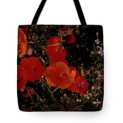Red Flowers 6 Tote Bag