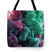 Red Folds Tote Bag