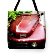Red Ford Tote Bag