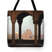 Red Fort From The Jama Masjid Tote Bag