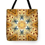 Red Fort Mosaic Tote Bag