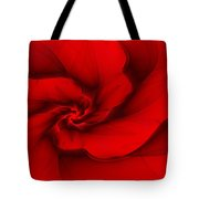 Red Fractal 080910 Tote Bag