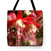 Red Fuschia Tote Bag