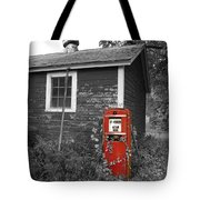 Red Gas Pump Tote Bag