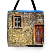 Red Gate, Stone Wall Tote Bag