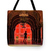 Red Gaurd Tote Bag