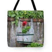 Red Geranium  Tote Bag
